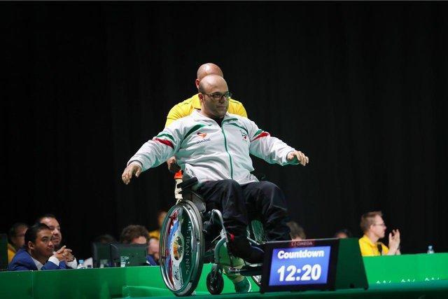 کسب مدال طلا توسط صلحی پور در وزنه برداری معلولان قهرمانی آسیا
