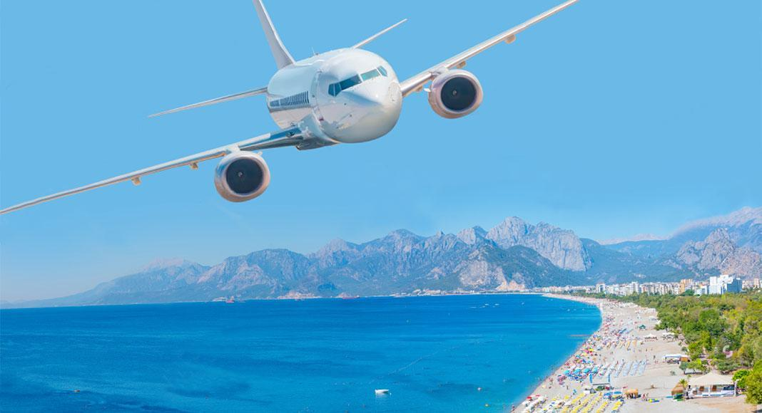 ارزانترین بلیط هواپیما آنتالیا
