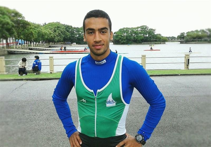 محمد نبی رضایی راهی فینال B قایقرانی قهرمانی دنیا شد