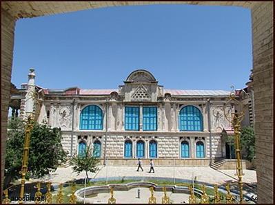 برپایی نوروزگاه در کاخ باغچه جوق شهرستان ماکو