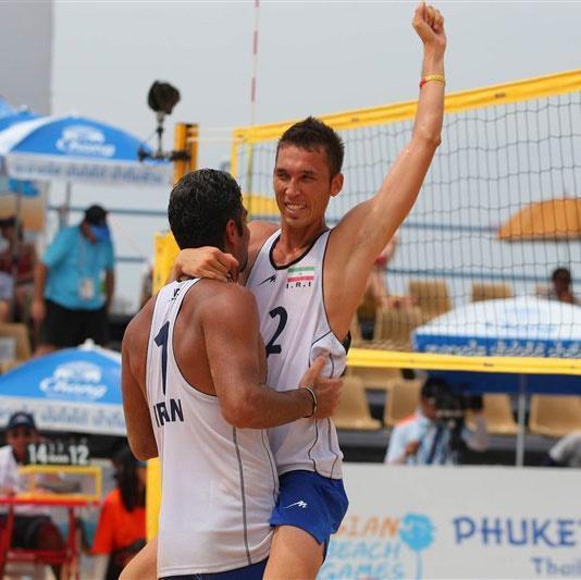 والیبال ساحلی به مدال نقره آسیا رسید