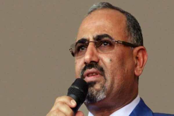 رئیس شورای انتقالی جنوب یمن راهی جده شد