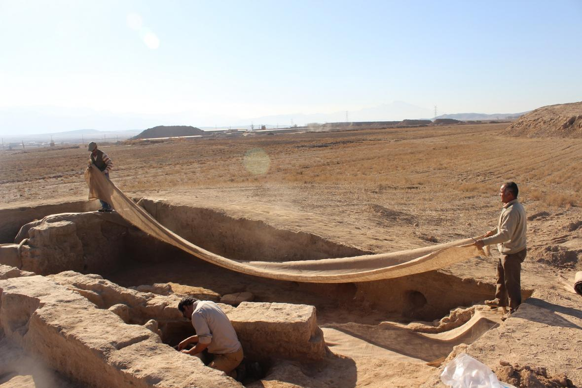فصل هفتم پژوهش های باستان شناسی بین المللی در محوطه تاریخی ریوی آغاز می شود
