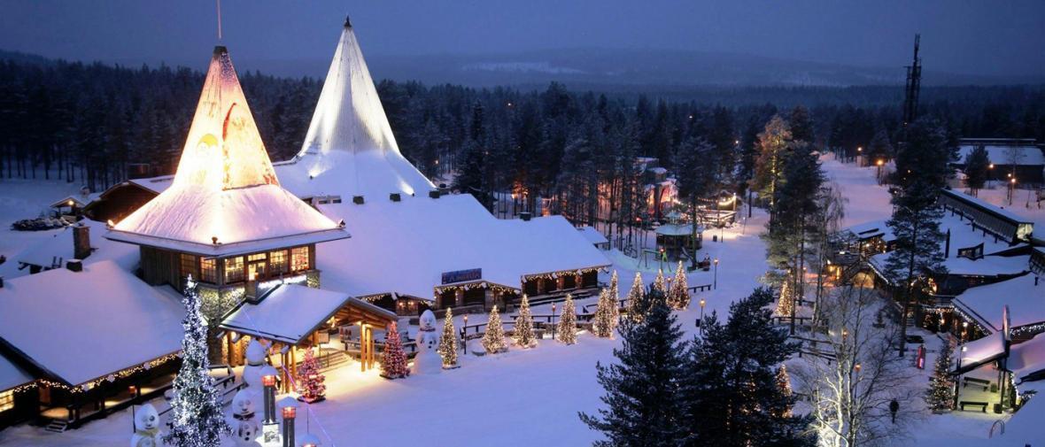 10 شهر و روستا با حال و هوای کریسمس