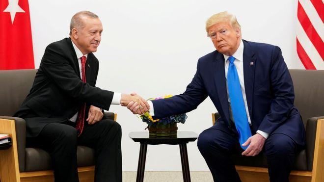 چالش های اردوغان در فرش قرمز ترامپ